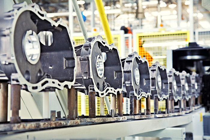 Engine Manufacturing Plant assembly line production