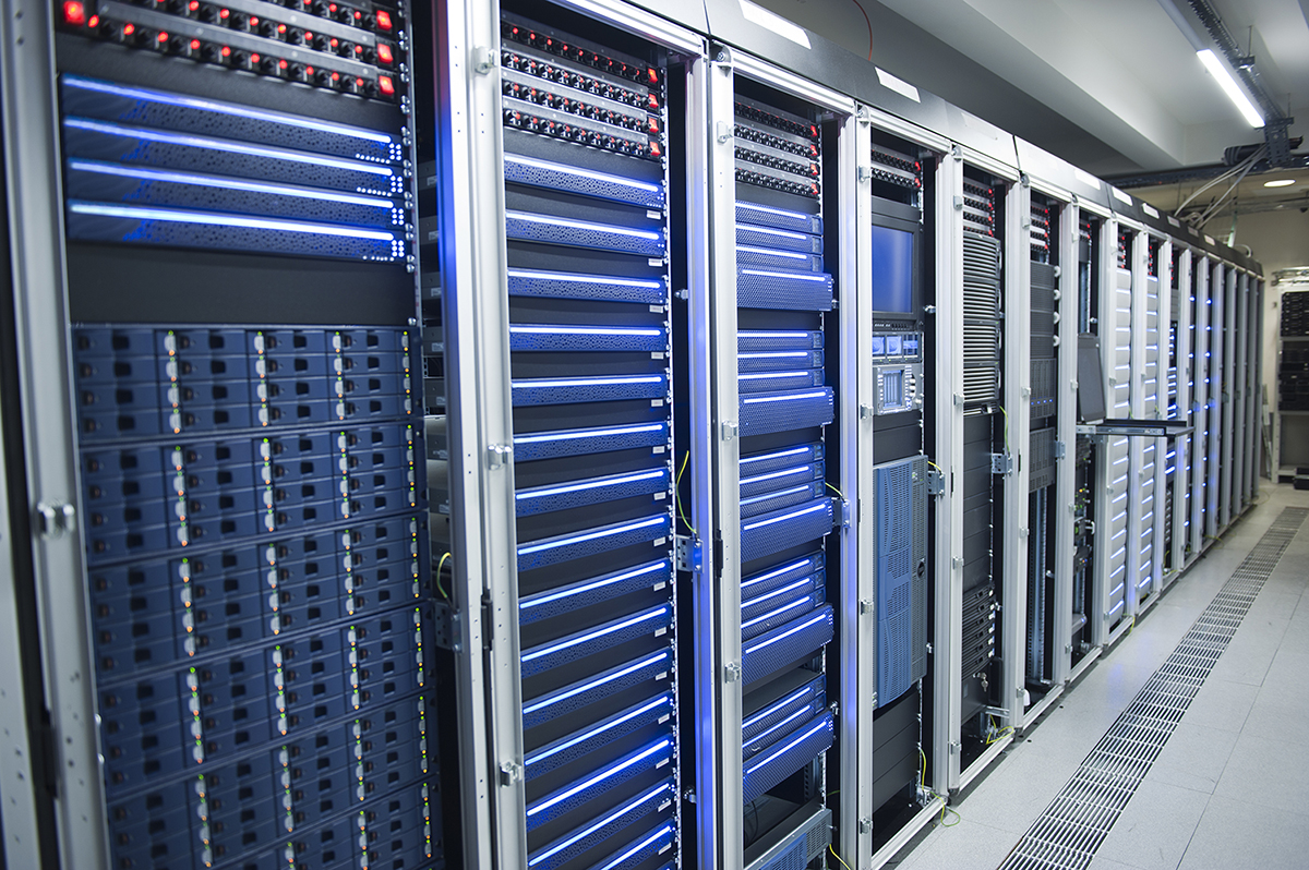 Global Technology Park Data Server Room