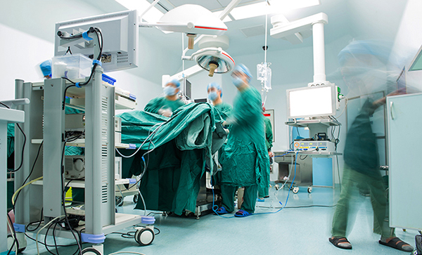 Hospital OR theater operation
