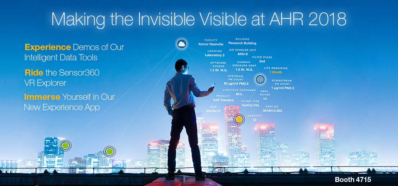 AAF Flanders at AHR 2018 - Making the Invisible Visible