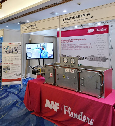 AAF Booth at A-PBA Biorisk Conference, Beijing