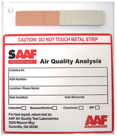 SAAF cupones para el control de la contaminación de gases - AAF ...
