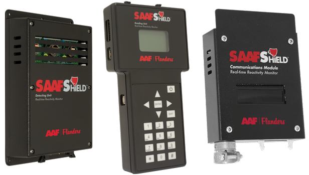 SAAFShield Detecting Unit, SAAFShield Reading Unit, and SAAFShield Communications Module