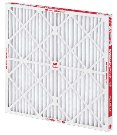 Pleated filter, MEGApleat M8 filter, pleated air filter