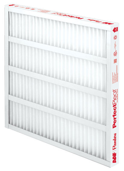 pleated filter, pleated air filter, PerfectPleat HC M8