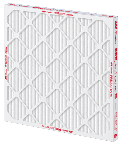 PREpleat hv filter, pleated filter, pleated air filter