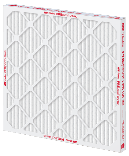 PREpleat LPD HC filter, pleated filter, pleated air filter